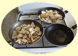gastronomie, cuisine et recettes des champignons